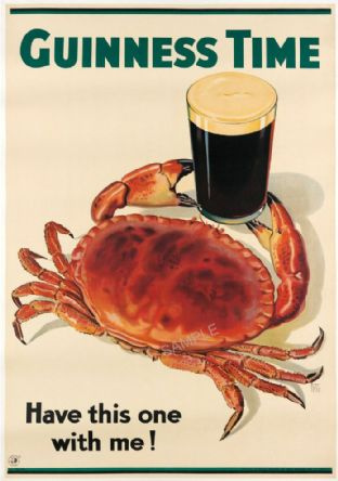 Guinness Beer Advert - Crab